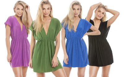 Product photography of cool summer dresses for Amazon and Central Chic e-commerce web site